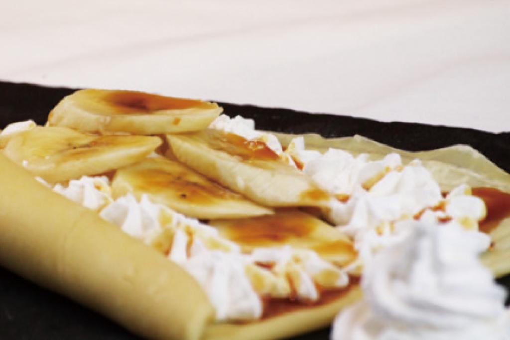 キャラメルバナナクリーム